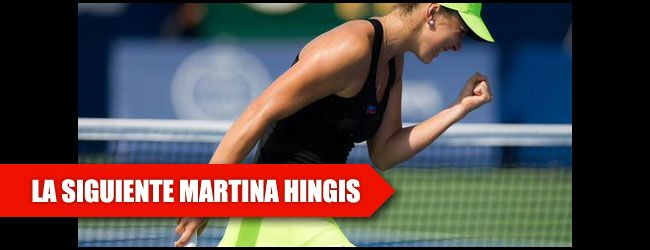 La joven suiza, de 18 años, ha maravillado al mundo del tenis con su gran juego en el torneo de Toronto, donde en su camino hacía al título ha dejado por el camino a seis finalistas de Grand Slams.