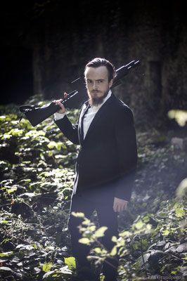 Spectacle James Bond, Cie Taprobane. © Léa Grandperrin photographie.