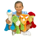 Cute Soft Toys Dinosaur Plush Figures Stuffed Animals  www.nothingbutdinosaurs.com