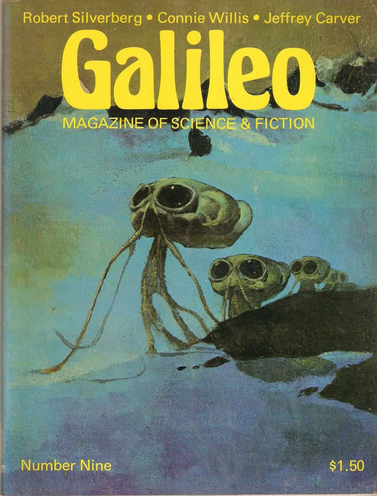 Galileo Magazine of Science Fiction 9 by Francopuces on Etsy