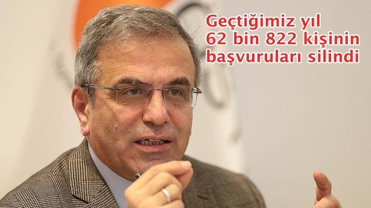 """ÖSYM Başkanı Ömer Demir, """"2016 YGS'de 62 bin 822 kişinin, ücret ödemedikleri için başvuruları silindi. Bu yıl YGS'ye başvuran adaylara, sınav ücretini yatırmadıkları takdirde başvurularının geçerli olmayacağı uyarısı yapıyoruz."""" dedi."""