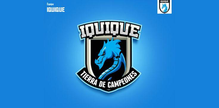 Logo Deportes Iquique por Gabo Romero