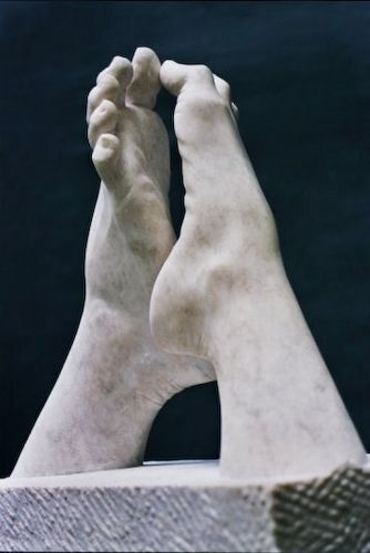 MAS Gerard. La Catedral (Homenatge a Rodin). 2003. Alabastro.