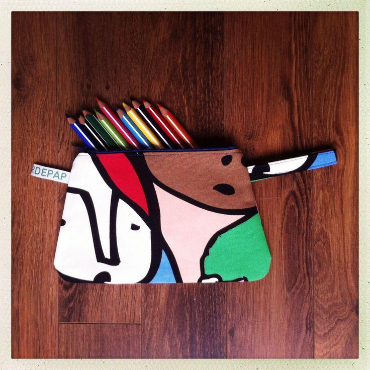 Colour pencil case Teun