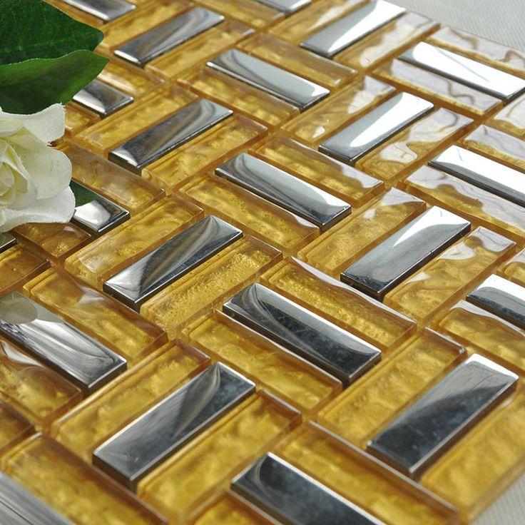 sheet tile for showers.  Crystal Glass Tiles Sheet Plating Mosaic Art Wall Stickers Kitchen Tile Sheets Mosaics Best Free Home 278 best Popular images on Pinterest tiles