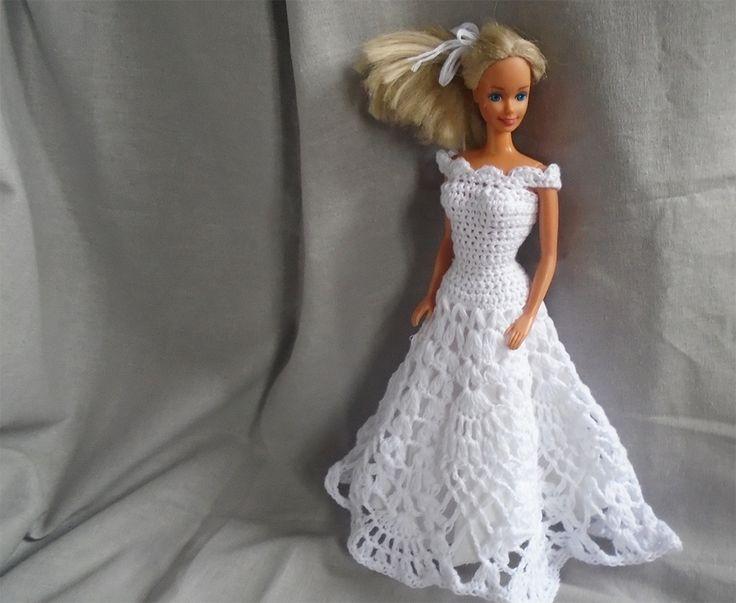 Wedding dress for Barbie