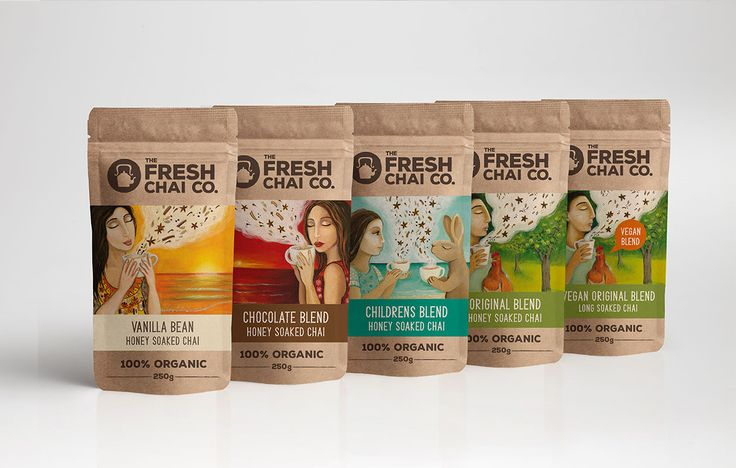 Branding & Packaging for Fresh Chai Co by Juno Creative | #madebyjuno
