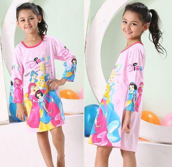Kids Dress Girls Nightgown Kids Girl Dress Princess