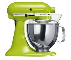Christmas Gift Idea for the home baker - Cake Mixers » KitchenAid Artisan KSM150 Stand Mixer Apple Green - Chef's Complements