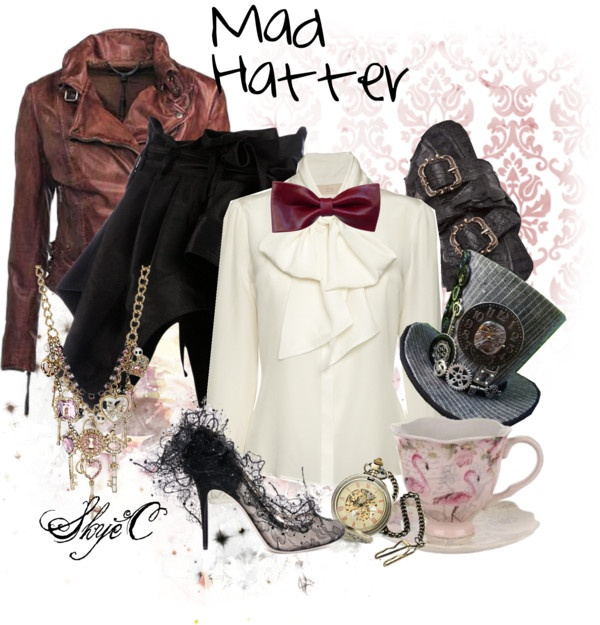 """Mad Hatter Inspired Outfit"" by rubytyra on Polyvore ..."