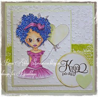 Krya på dig - A get well card made by DT-Rosa.  http://pysseldags.se