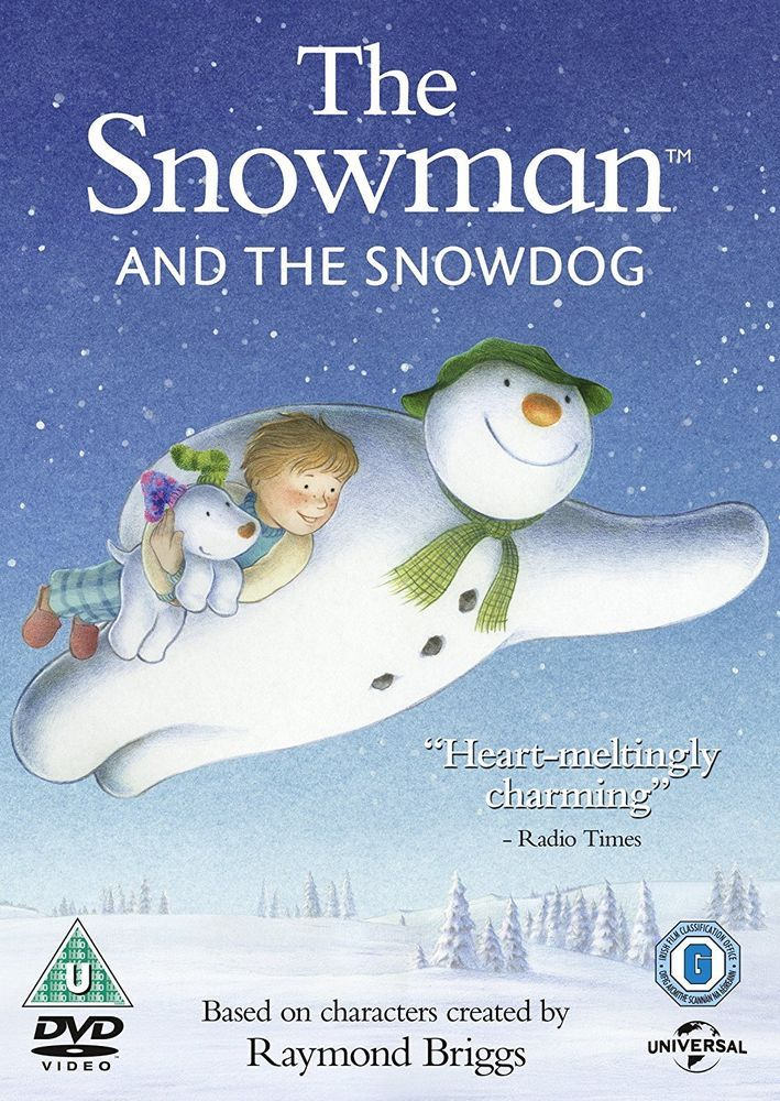 The Snowman and the Snowdog [DVD] [2012] Same Day Dispatch