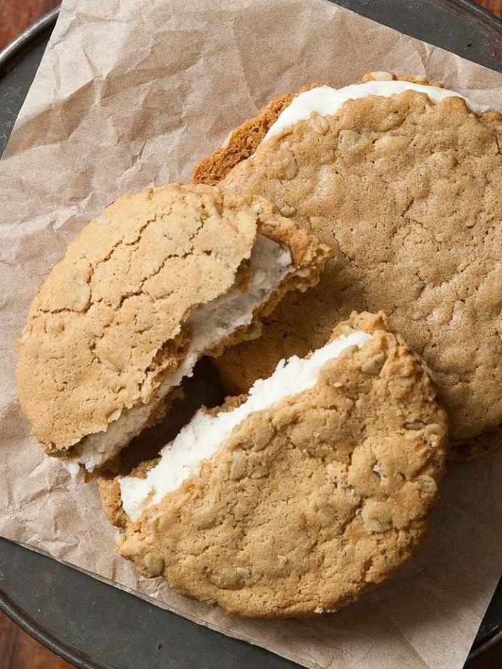 Sticky Fingers Bakery in Washington, DC put Vegan Desserts on the Map (famous Cowvin Cookies pictured - they ship!)