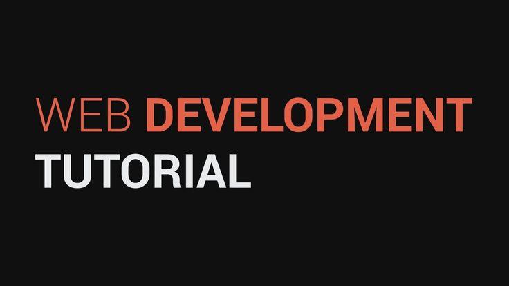 Web Development - Basics of web design process and theory