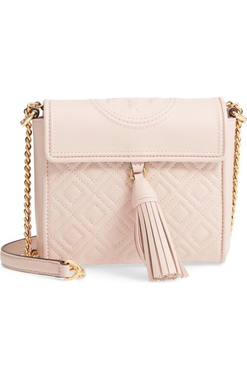 dae71218c1af Tory Burch Fleming Quilted Leather Crossbody Bag