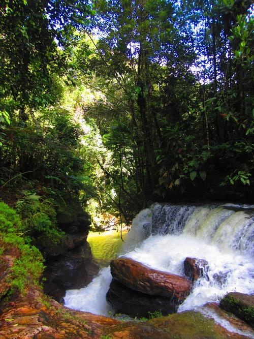 Cascada Canalendres, Putumayo -Colombia