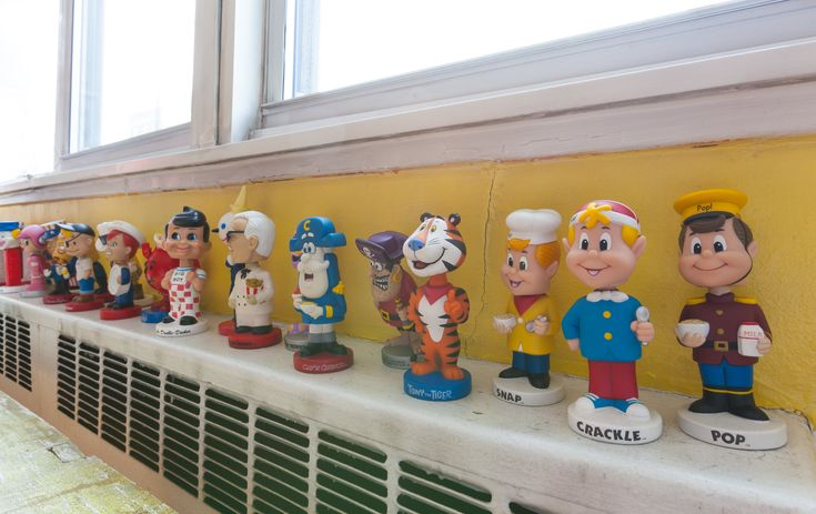 """The bobble heads are from Toy Tokyo, an East Village toy store specializing in international items. """"I don't actively collect these as I once did — mostly because of space constraints.  I usually buy based on nostalgia — where it is a character from a favorite TV show!"""""""