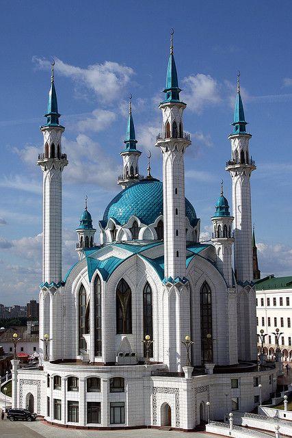 Qolsharif Mosque, Kazan, Russia.