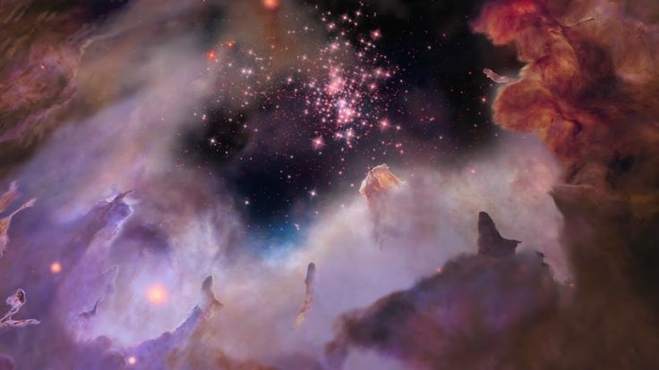 Celebrating Hubble's 25th here's a cool video.   Flight to Star Cluster Westerlund 2