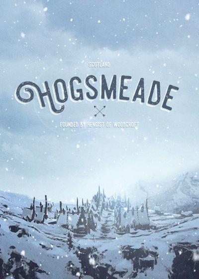 Hogsmeade - Harry Potter gif