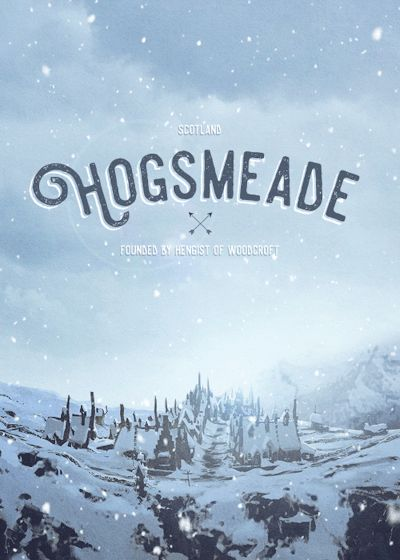 Hogsmeade - Harry Potter gif