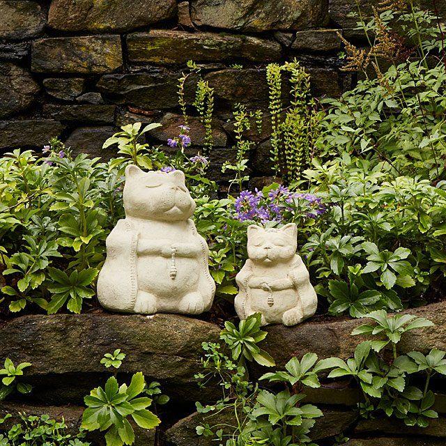 Standard Zen Cat Garden Sculpture Cat Garden Dog Garden