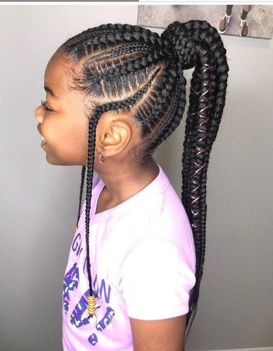 10 Vacation Hairstyles For Pure Hair Children Your Children Will Love