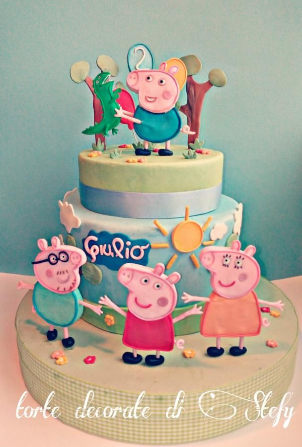 George Pig and family by stefania