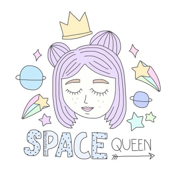 Alluring Queen Cute Girl Images With Quotes: Hipster Art Kawaii - Buscar Con Google