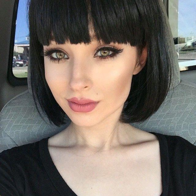 Big cat eye eyeliner Instagram: virtualsouls