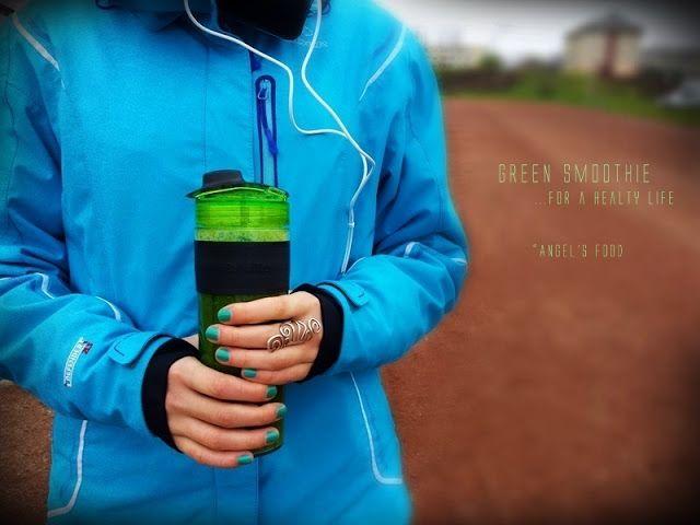 Smoothie verde~Green Smoothie