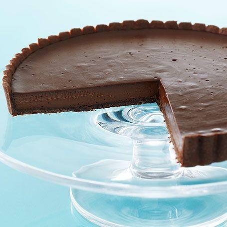 Chocolate tarte Anna Olson