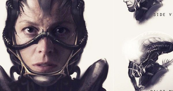 Director Neill Blomkamp has shared concept art for an unofficial 'Alien' film he was working on which seeds Ripley and Hicks back into the franchise.