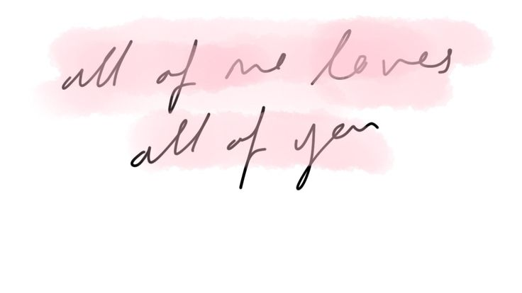 John Legend- All of me