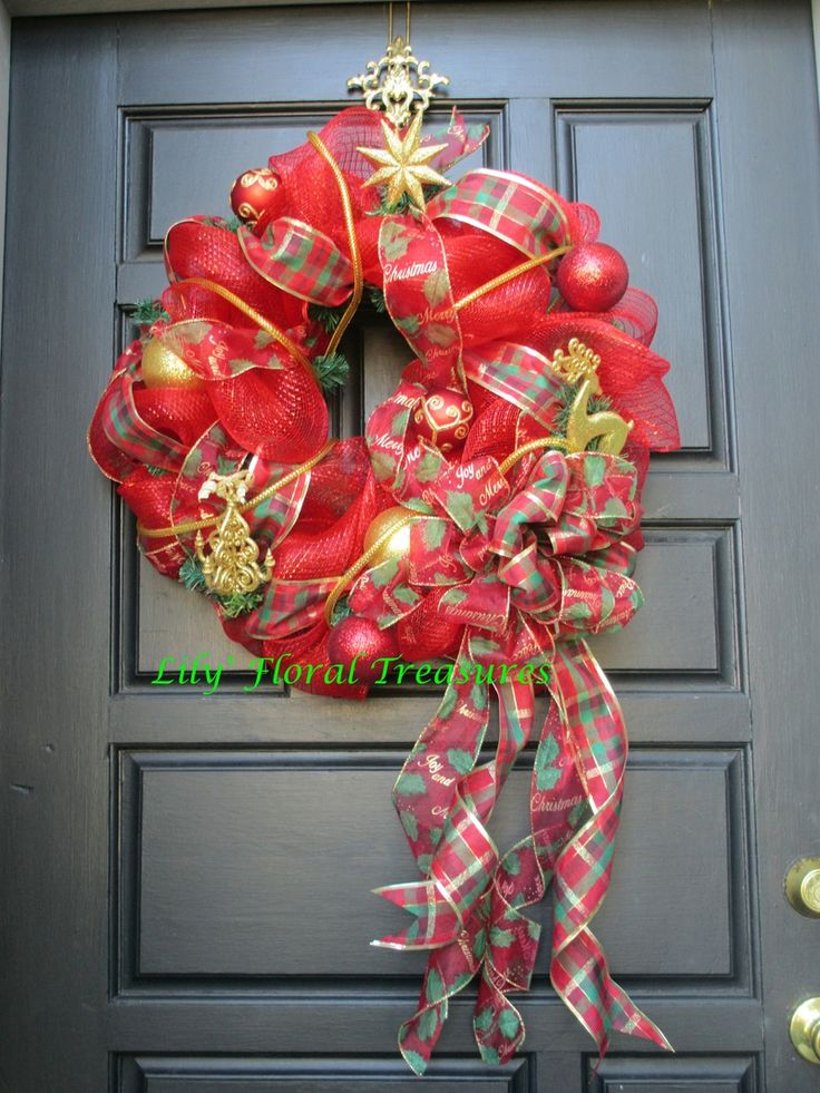 17 best images about wreaths on pinterest how to make for Deco decorations