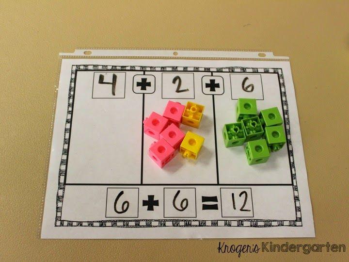 Adding 3 numbers FREEBIE
