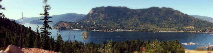Sicamous, B.C view of Mara Lake!