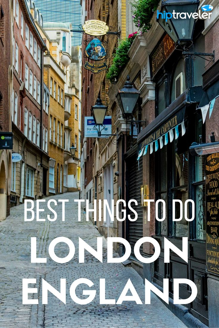 The best things to do in London, England. Bookable excursions for your trip to the United Kingdom! | Blog by HipTraveler: Bookable Travel Stories from the World's Top Travelers