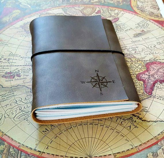 explorer journal with maps a travel journal charcoal gray
