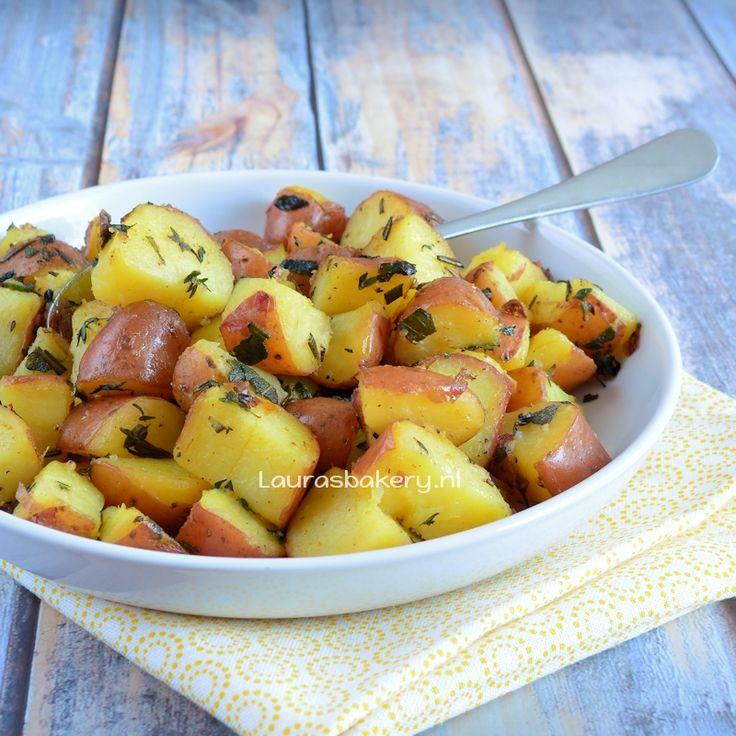 Laura Kookt: Gekruide citroen aardappelen - Laura's Bakery - spiced lemon potatoes