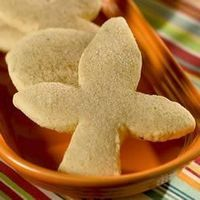 This is New Mexico's traditional cookie. A great thick sugar cookie that is dusted with cinnamon-sugar. The traditional shape is fleur-de-lis, but use your favorite cookie cutters if you like.