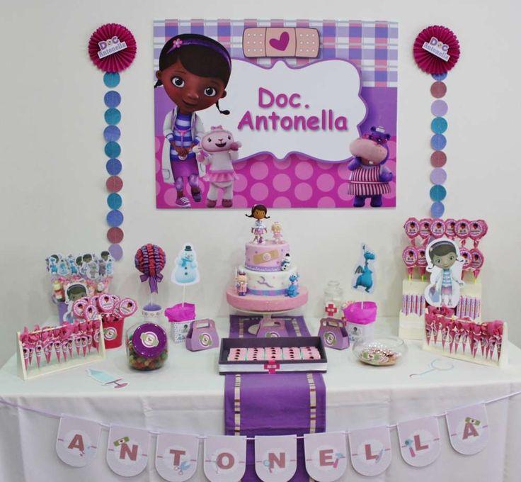 Doc Mc Stuffins Birthday Party Ideas | Photo 1 of 8