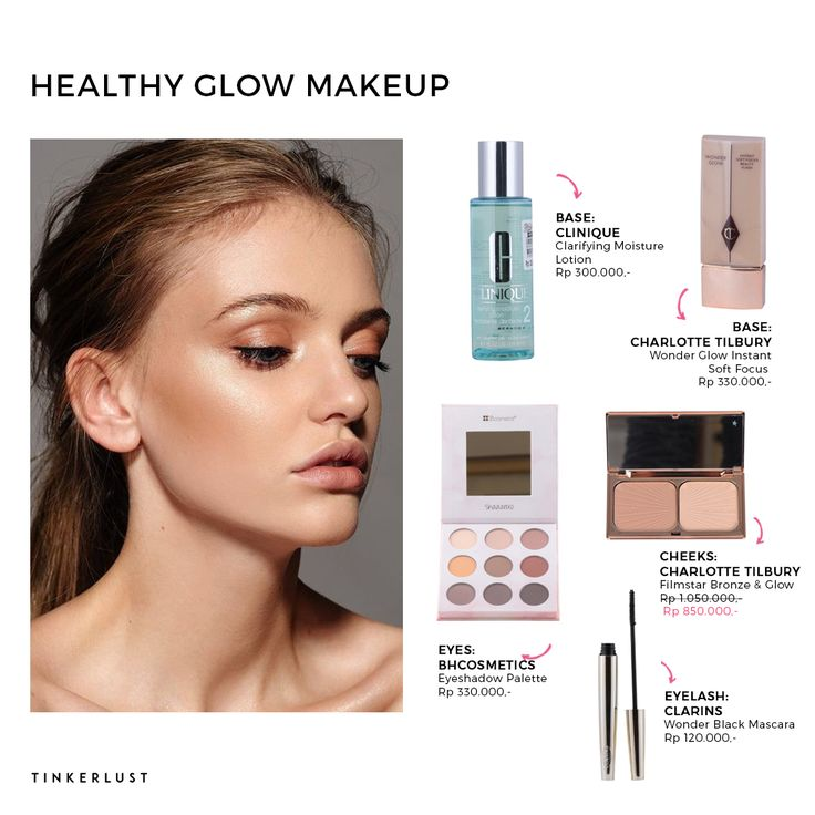 Do you want a healthy glow look? Find our make up collection from base, eyeshadow, contour, lip kit and many more to complete your healthy glow look. Shop it now at https://goo.gl/iBR8ZY