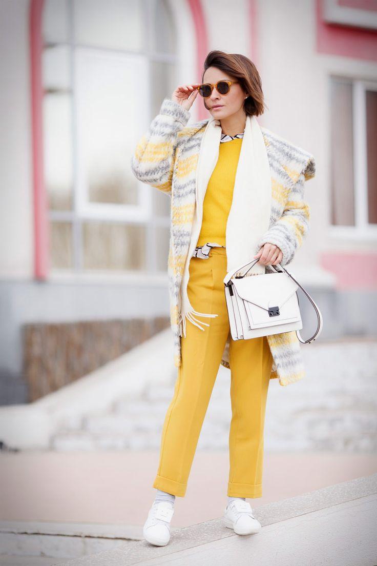 hooded plaid coat, yellow plaid coat,