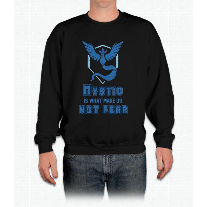 Team Mystic - Pokémon Go Pikachu Crewneck Sweatshirt