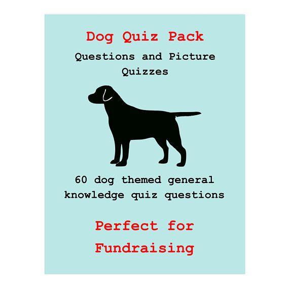 Dog Quiz   60 Pub Quiz Questions and Picture Quizzes   Perfect