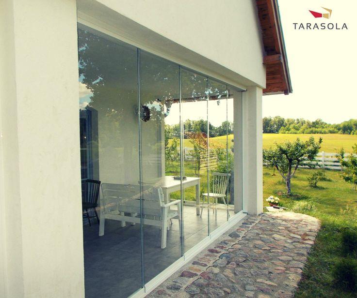 #tarasola #przeszklenia #przesłony #szklane