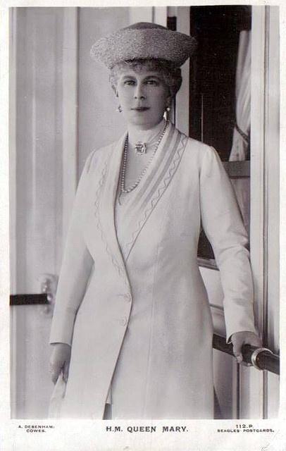 Königin Mary von England, nee Princess Maria Teck  by Miss Mertens, via Flickr                                                                                                                                                                                 More