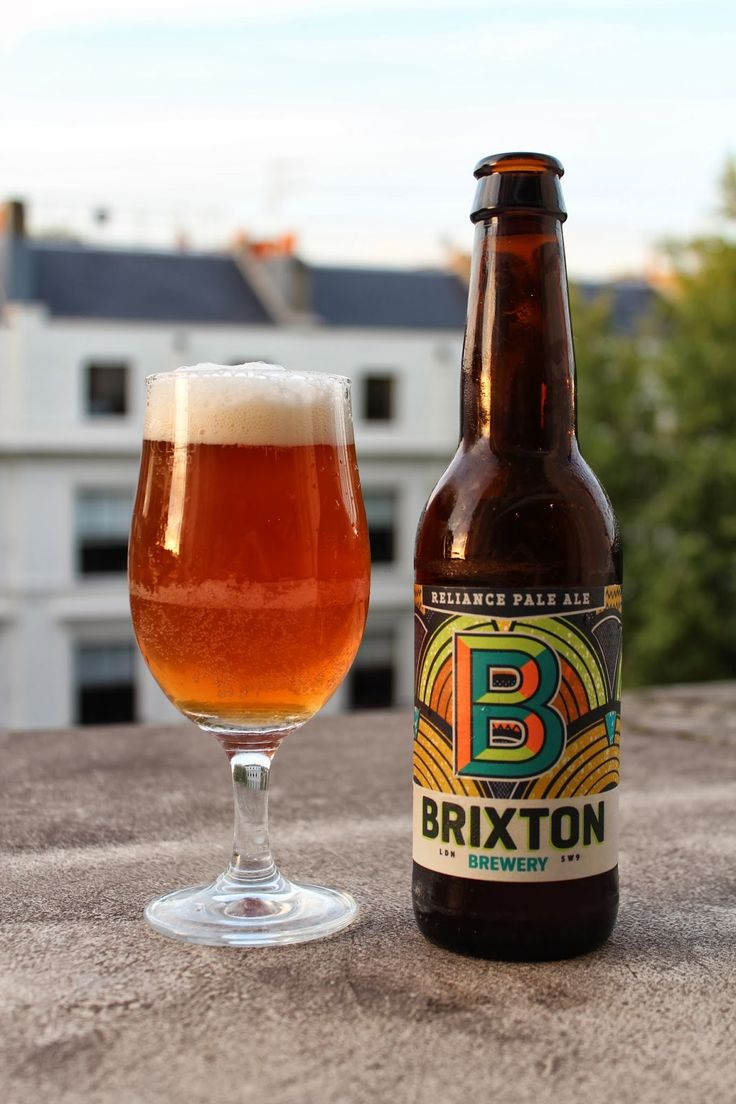Brixton Brewery // Reliance Pale Ale 4.2% ABV. Hops: Northdown, Cascade & Chinook.