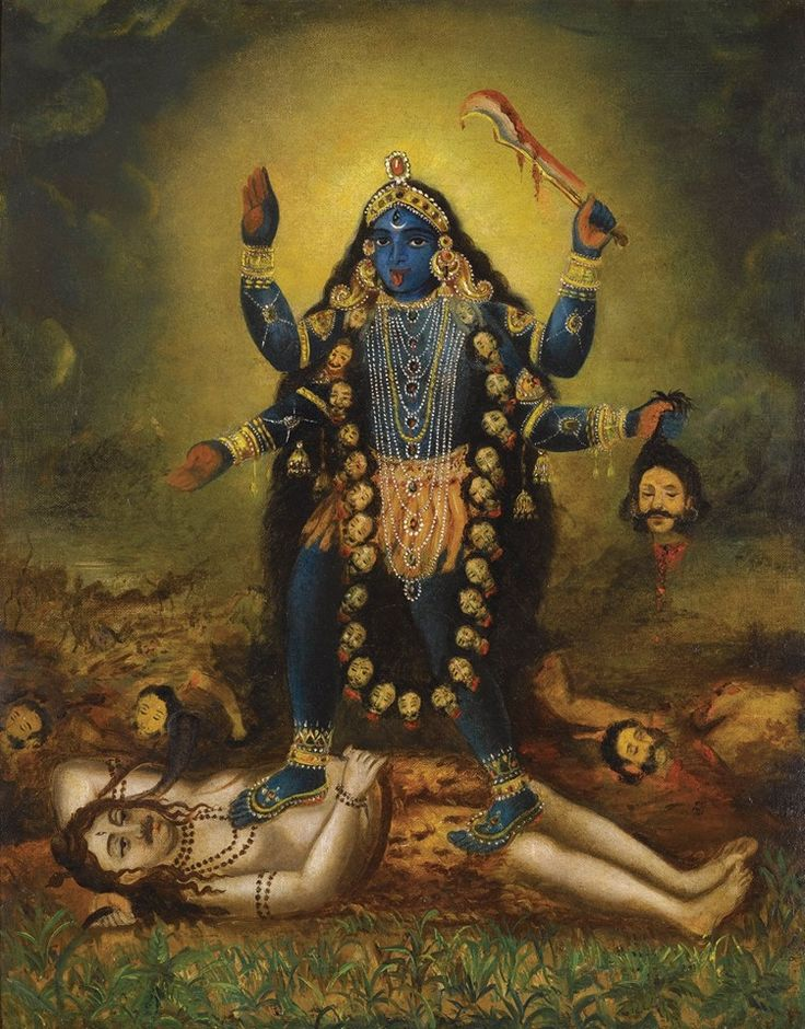 Our Divine Mother of the Universe...Kali Mata